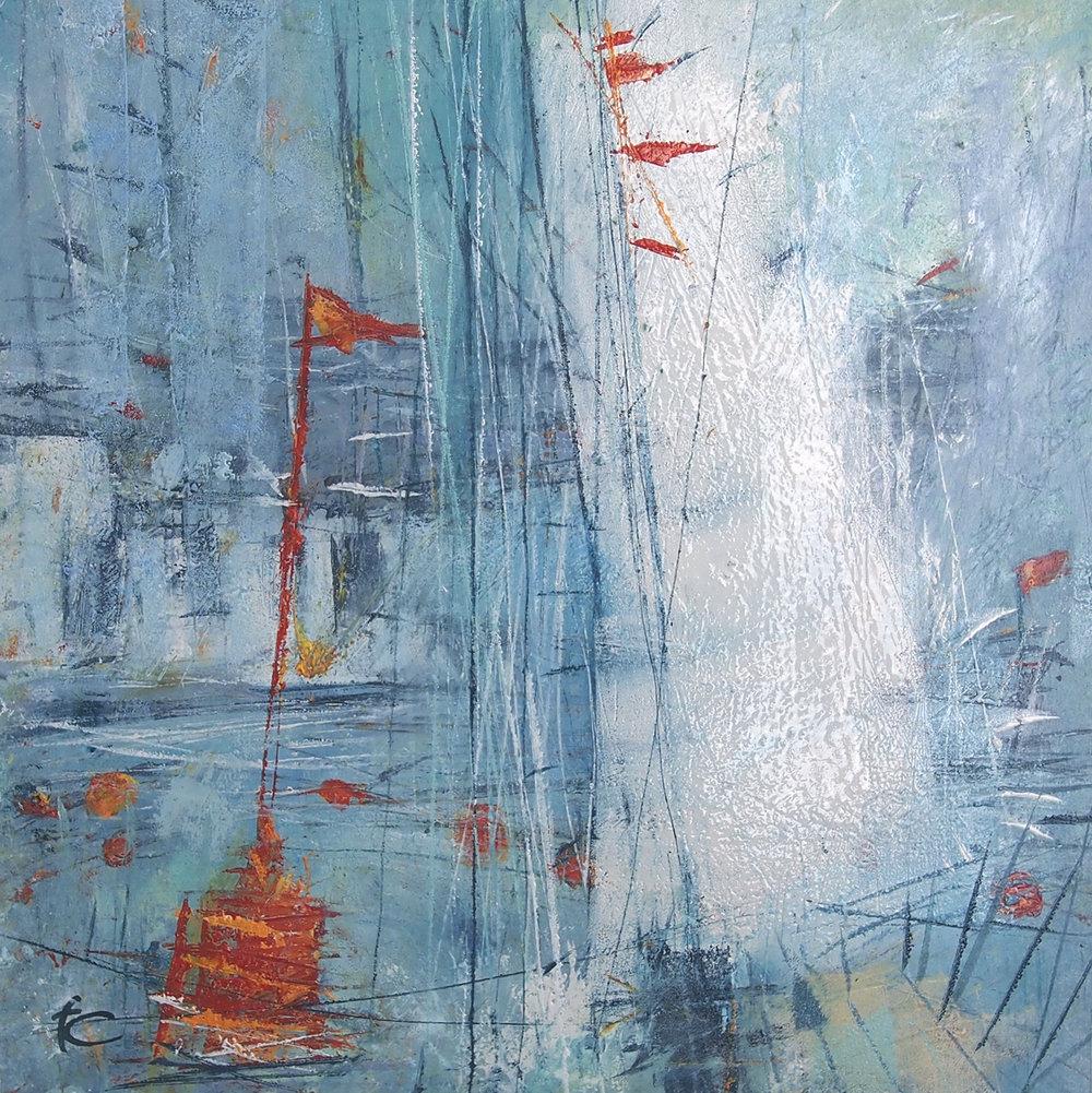 'Harbour I' - 29cm x 29cm