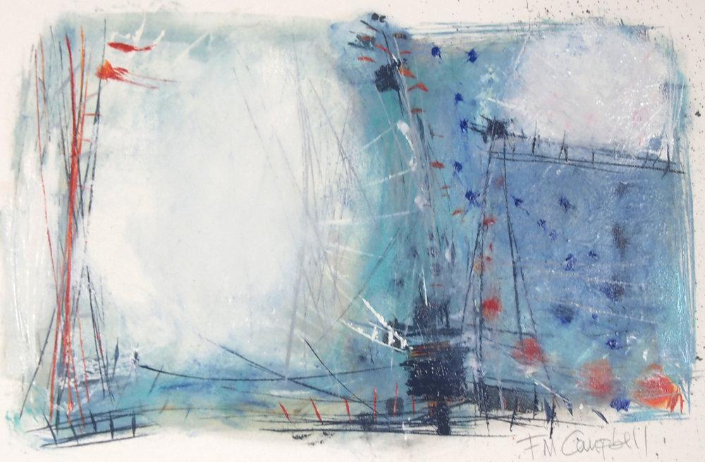 'Sail III' - 44cm x 30cm