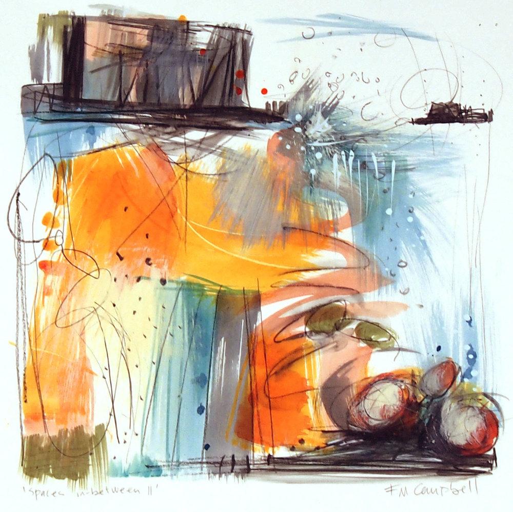 'Spaces in-between II'