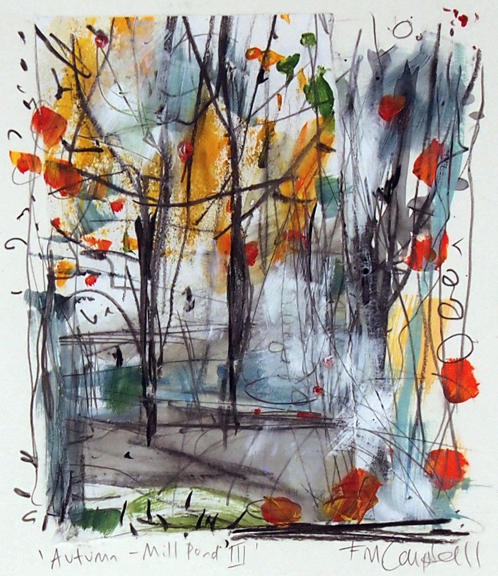 'Autumn - Mill Pond III'