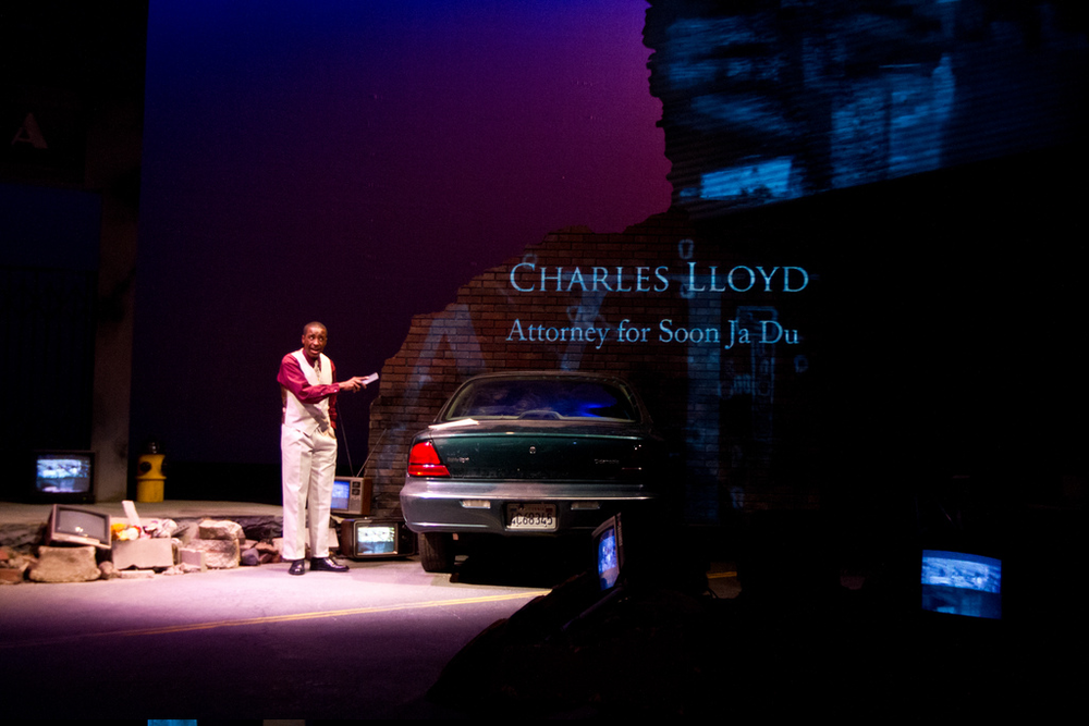 Devin as Charles Lloyd in Twilight Los Angeles.