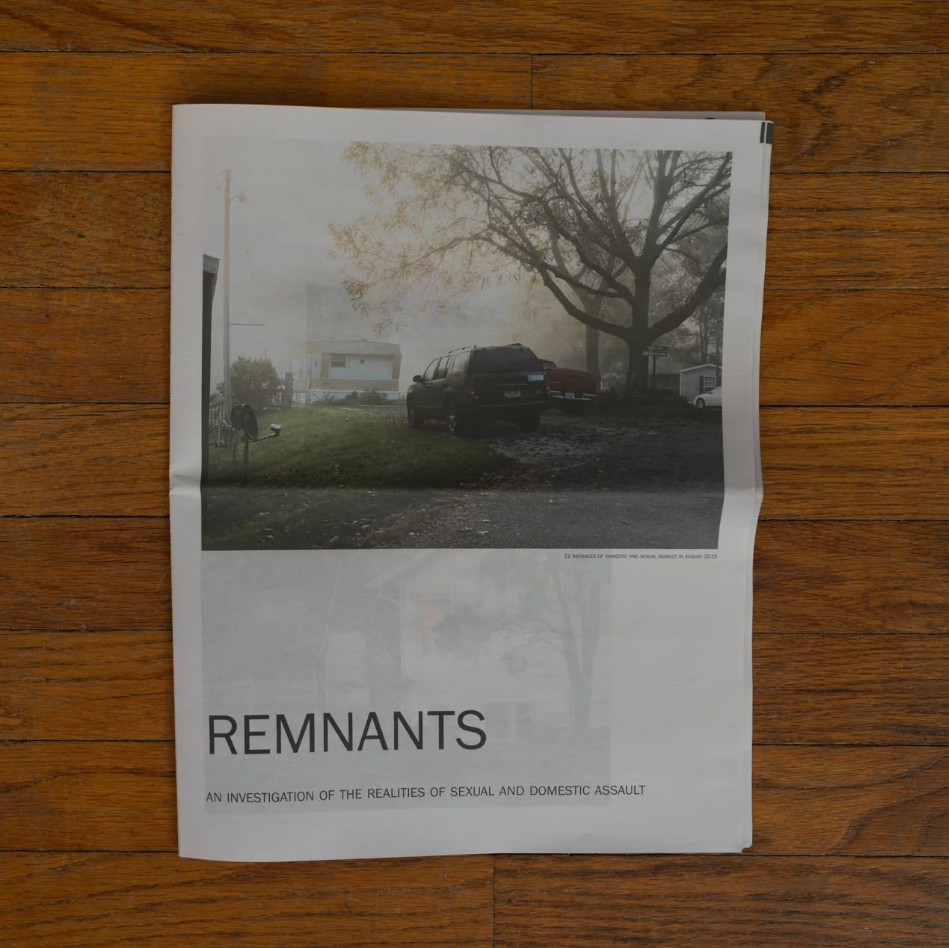 Remnants - A newspaper to send to Congress