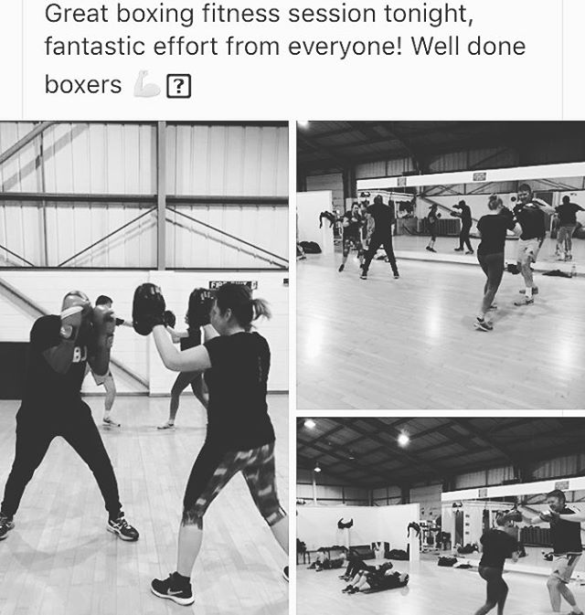 Great to see you all enjoying your boxing session last night. Keep up the hard work - Wednesday 7-8pm, no need to book just come along and join in 💪🏻💪🏻