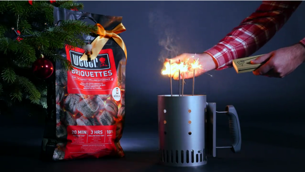 Weber - Vánoční video a foto kampaň
