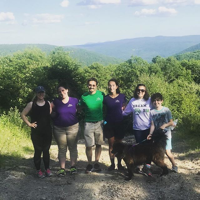 Our interns taking advantage of some free time to explore the long path trail. #exploreschohariecounty #schohariecounty #longpath