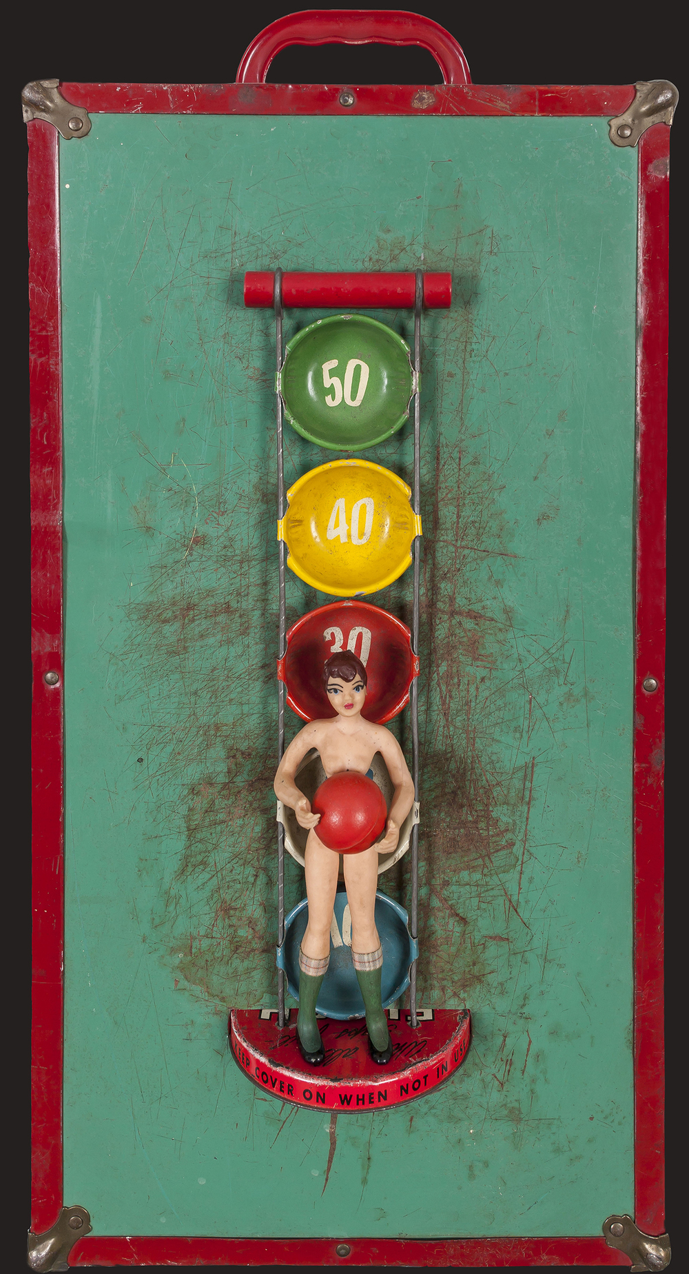 Have a Ball, 2013, 22 x 11 x 7