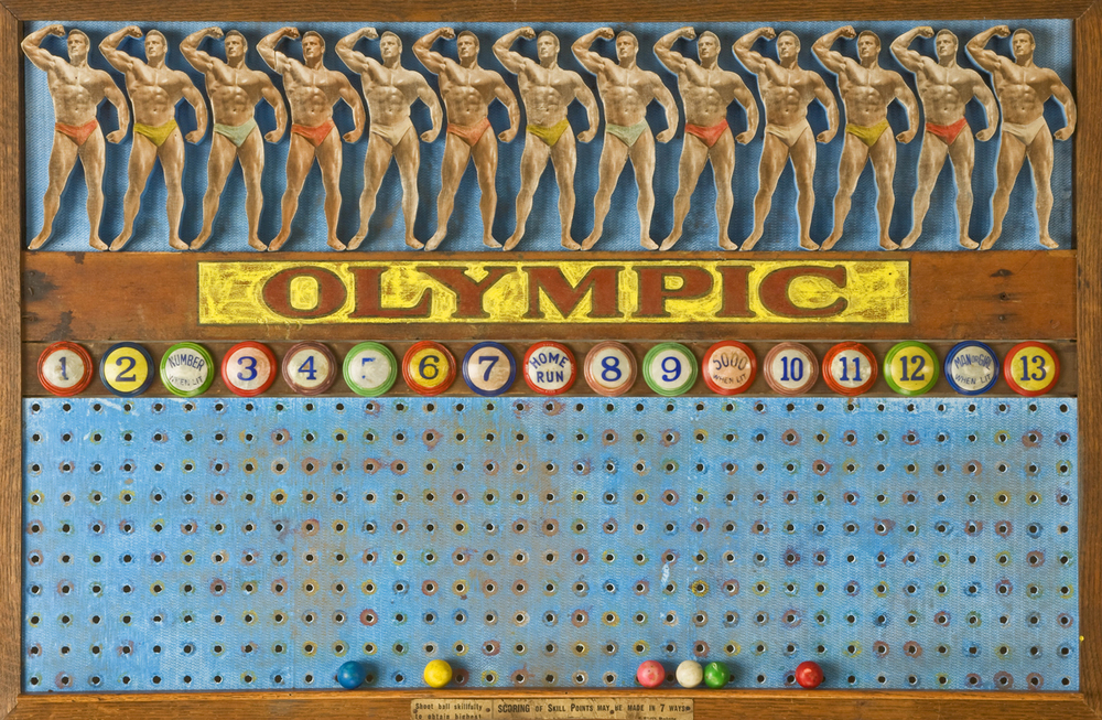 Olympic Game Board, 2012, 24 x 36 (Sold)