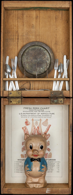 Pork, 2013, 22 x 8 x 3 (Sold)