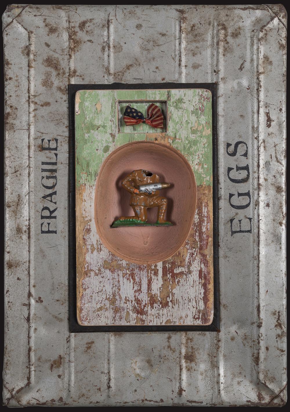 Fragile Eggs, 2013, 14 x 10 x 3 (Sold)