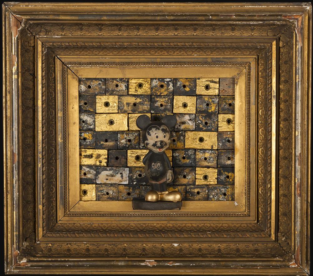 Golden Boy, 2013, 17 x 19 x 5 (Sold)