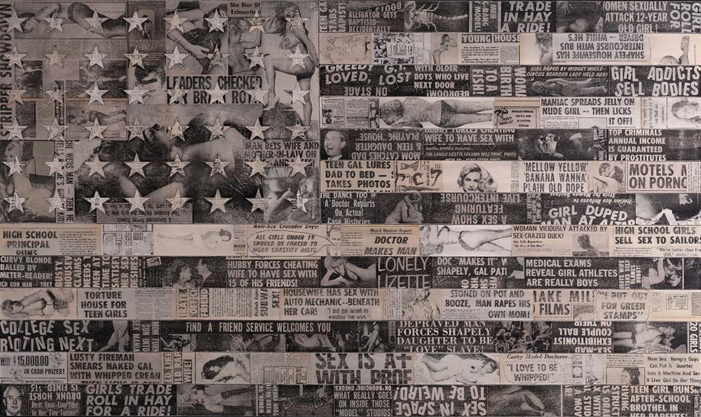 In Black & White, 2013, 75 x 45 (Sold)