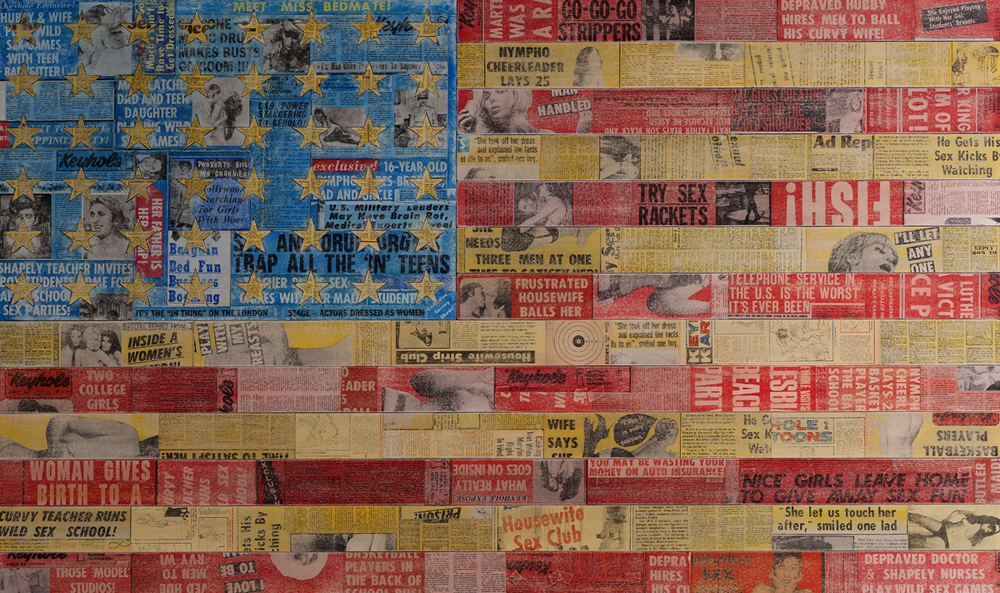 Star Spangled, 2013, 75 x 45 (Sold)