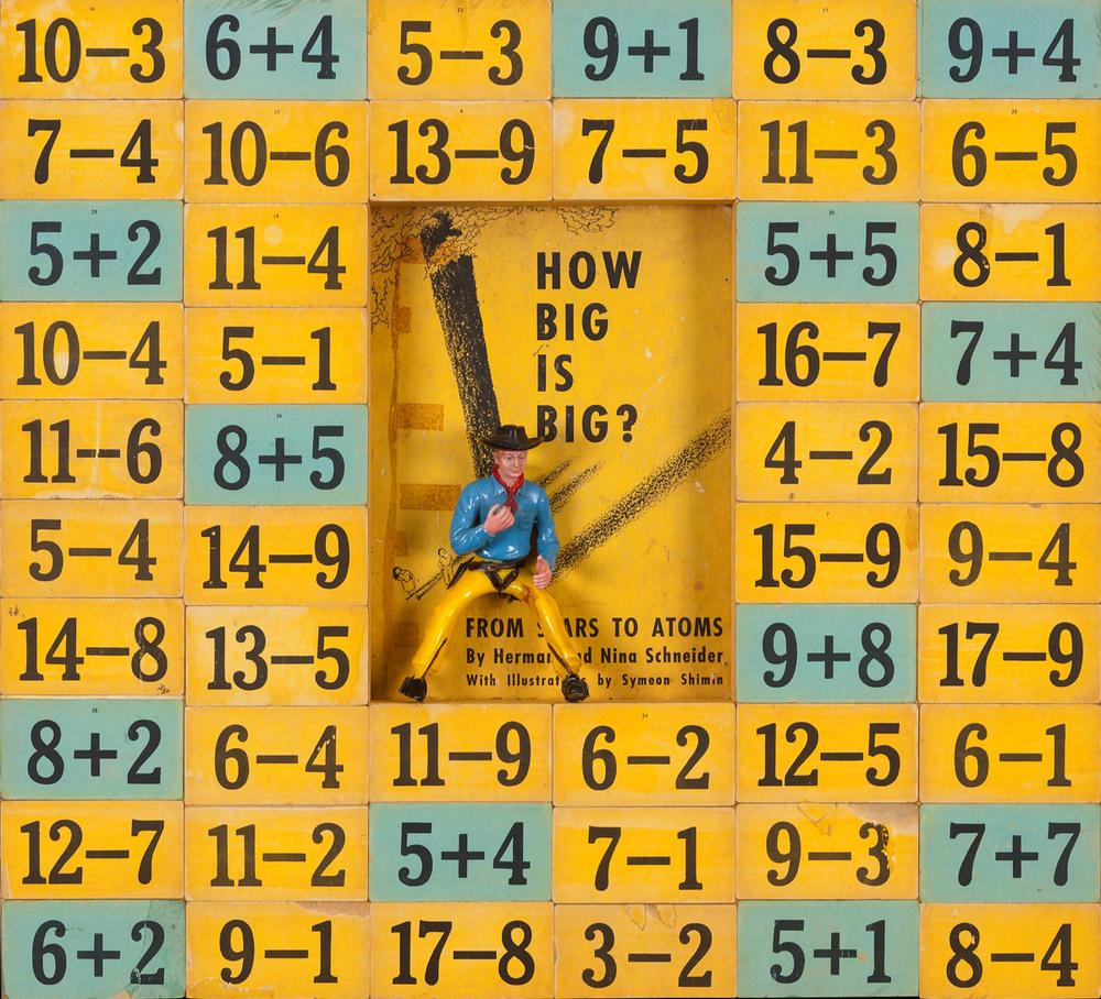 This Big, 2013, Pop Construction, 19 x 21 (Sold)