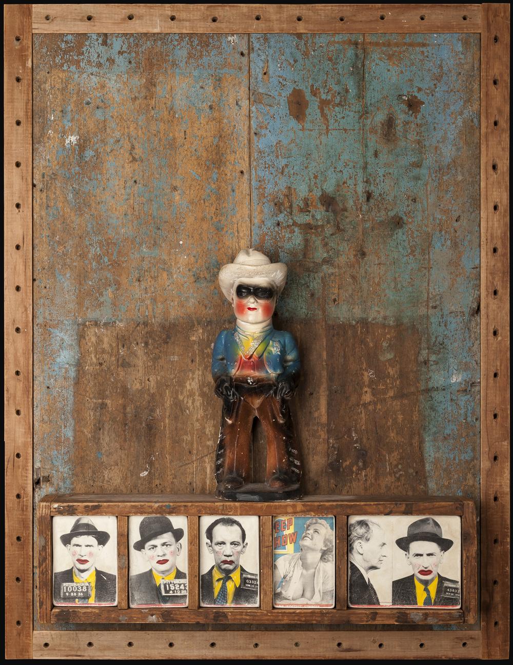 Souvenirs, 2012, 39 x 39 x 4 (Sold)