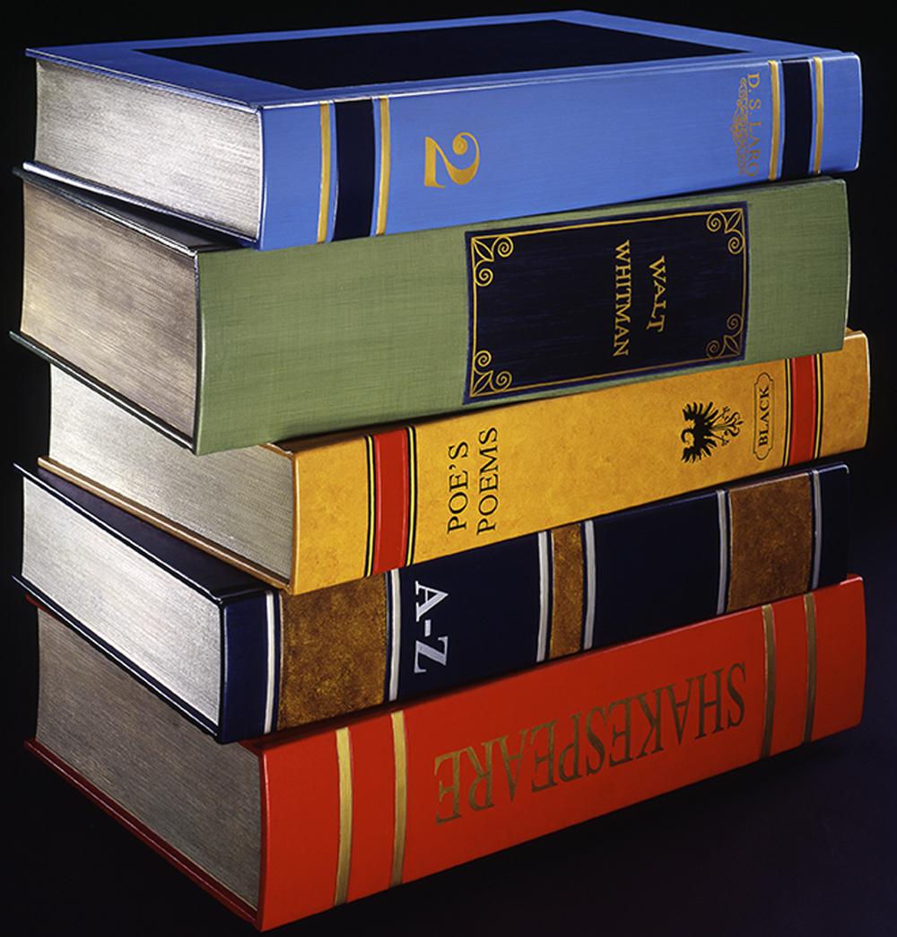 Books Dresser, 2005, 40 x 40 x 27 (Sold)