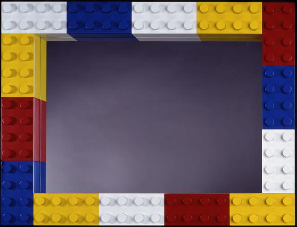 Lego Mirror, 1999, 24 x 32 x 33 (Sold)