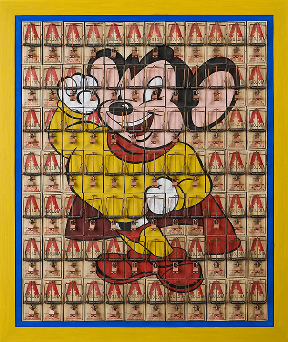 Mighty Mouse Traps, 2009, 28 x 24 (Sold)