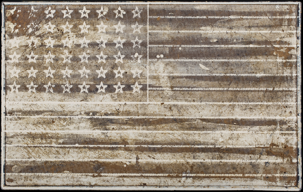 Stars and Stripes, 2016, 19 x 30