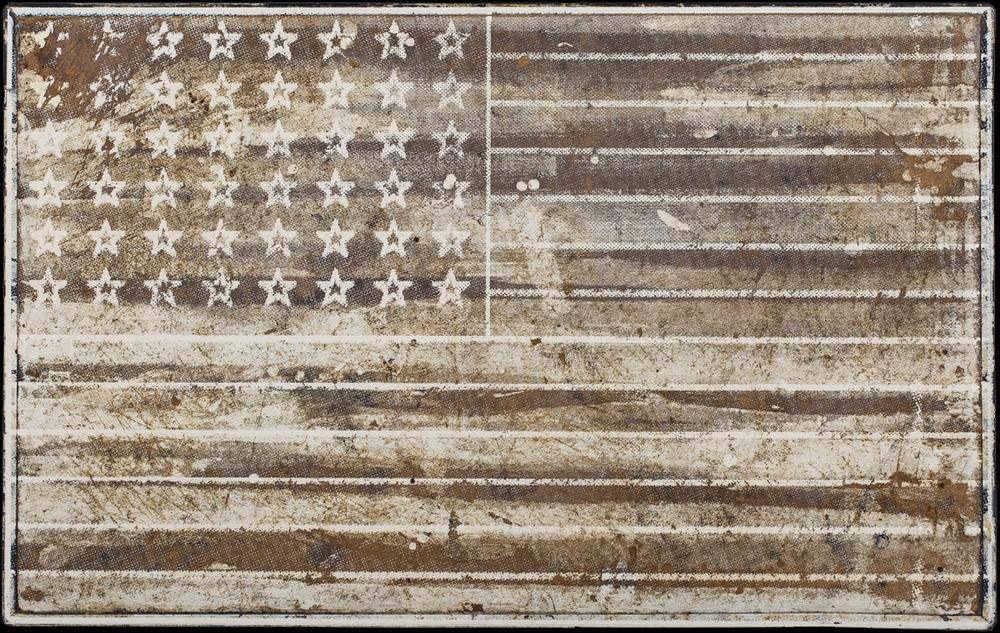 Stars and Stripes, 2016, 19 x 30