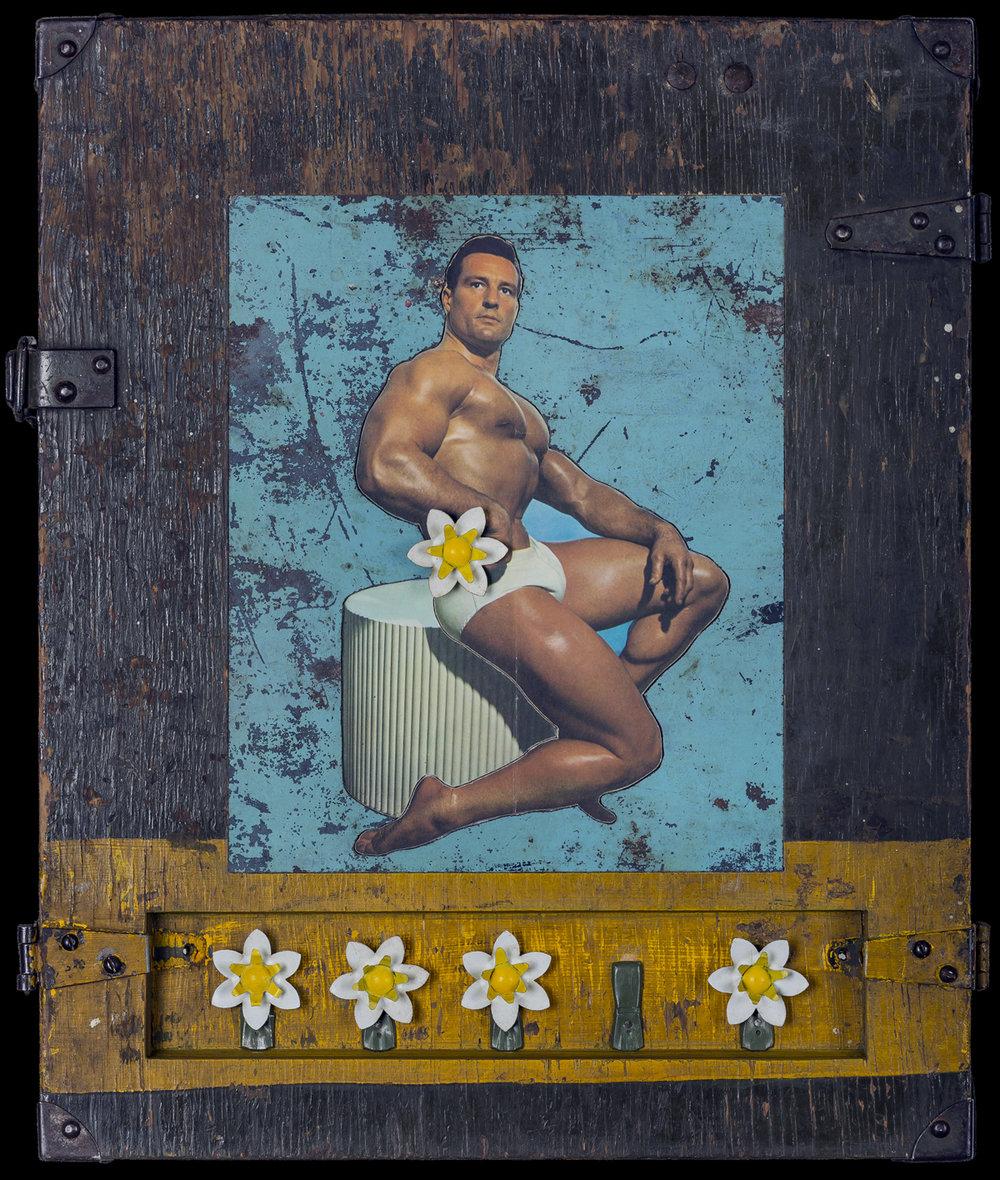 Wallflower, 2016, 20 x 16 x 4