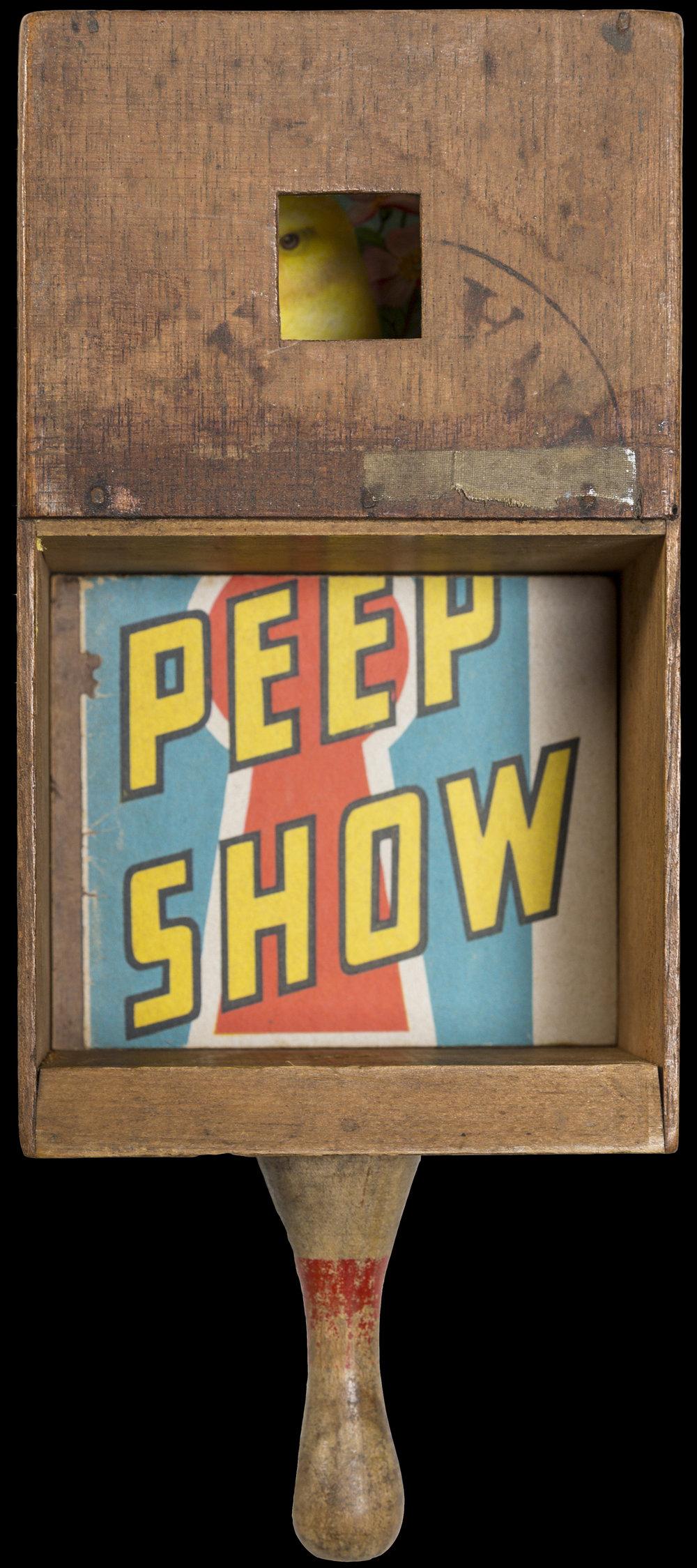 Peep Show, 2017, 11 x 5 x 3 (Sold)