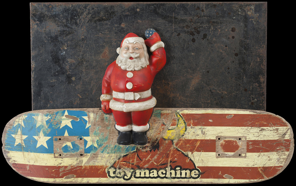 Toy Machine, 2014, 18 x 31 x 4 (Sold)