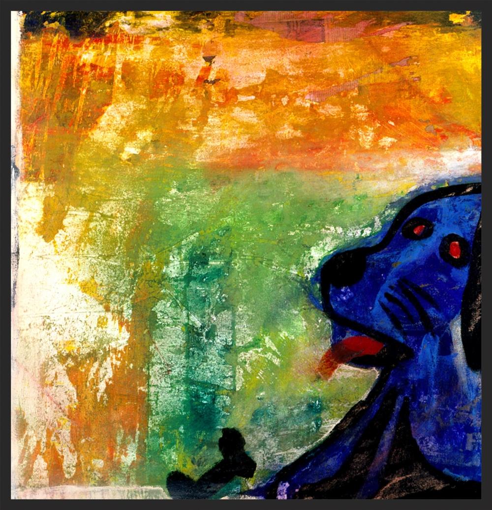 Blue Dog- SOLD