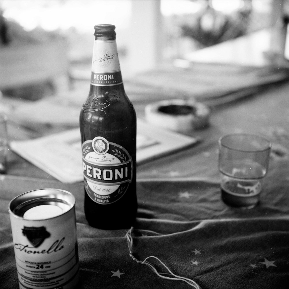 Still Life with Peroni