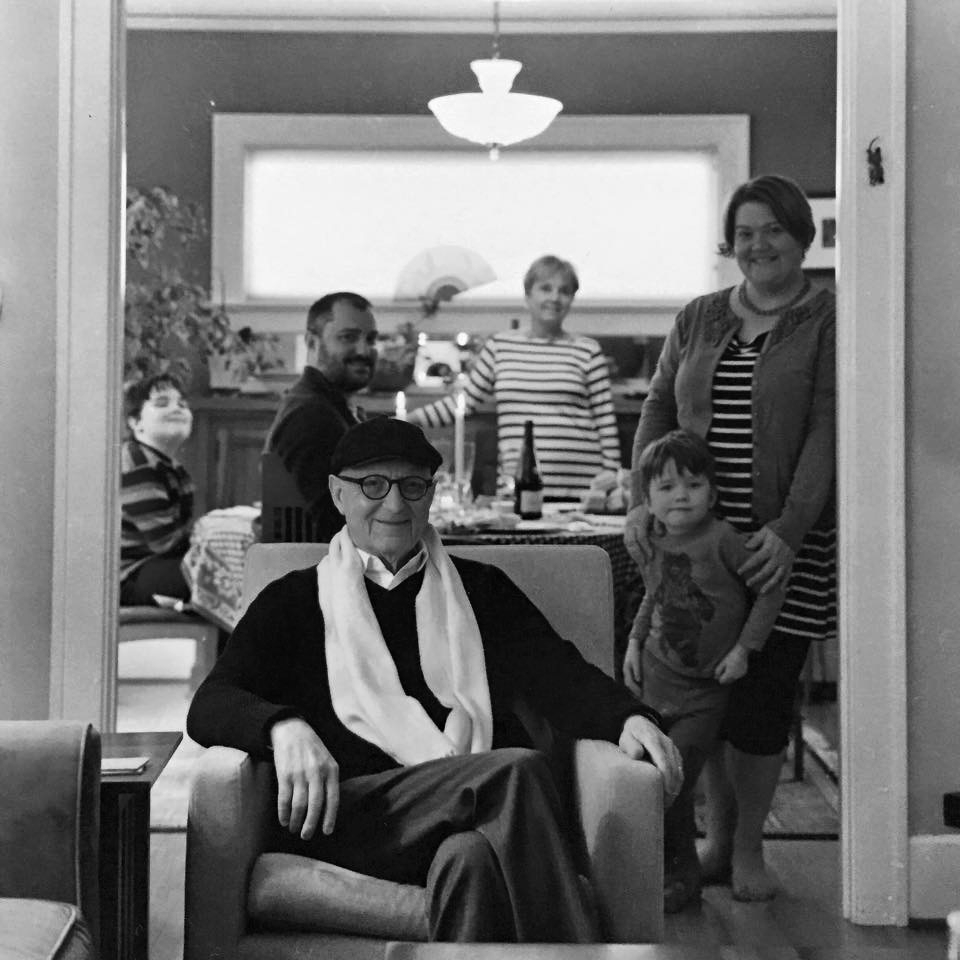 Architect in Residence, Joseph Macca & Family