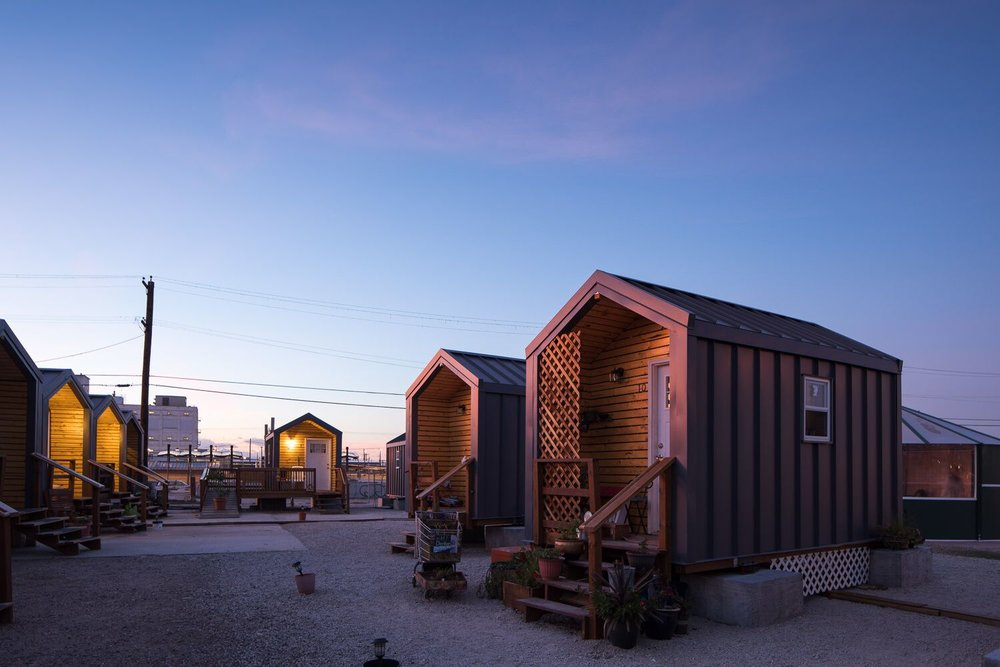 Press Release First Year Of Tiny Homes Village A Success For