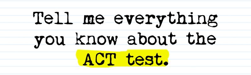 ACT Test Dates & Registration Deadlines — Admission Possible