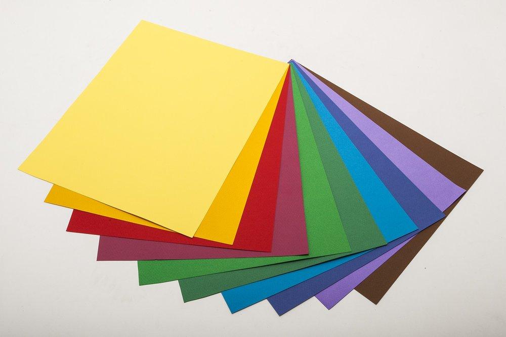 papier couleur (toutes épaisseurs)