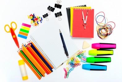 fournitures scolaires diverses et variées