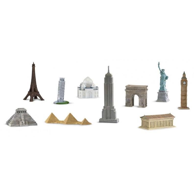 monuments historiques en miniature