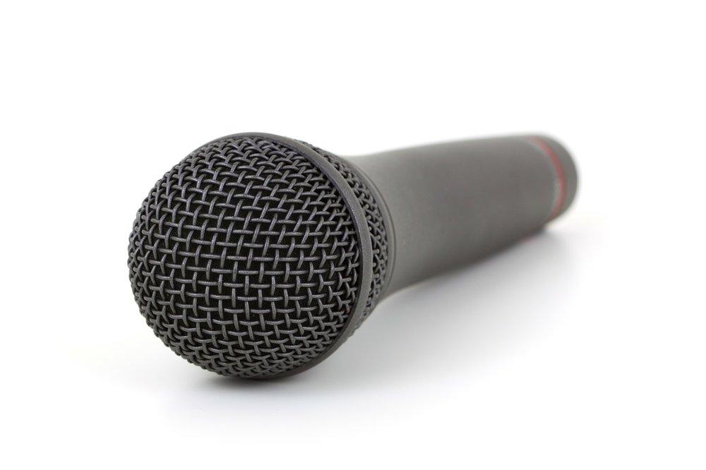 7 Secrets for a Great Speech microphone