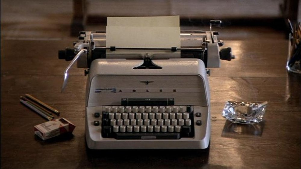 Can you guess the film this typewriter is from?