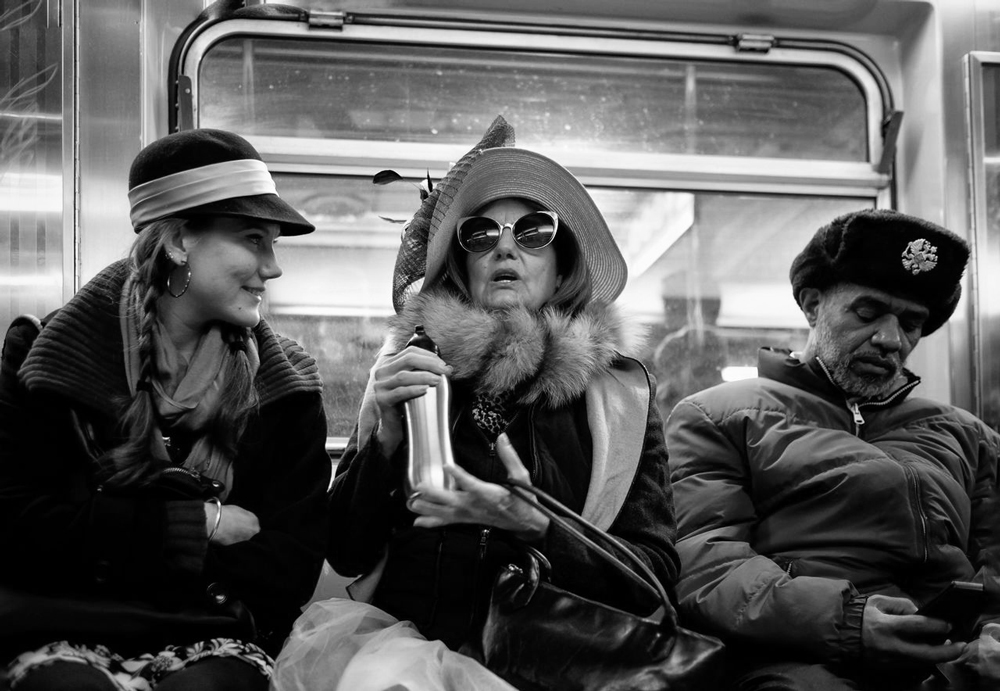 The diversity of the New York subway. Photography by kickin / EyeEm