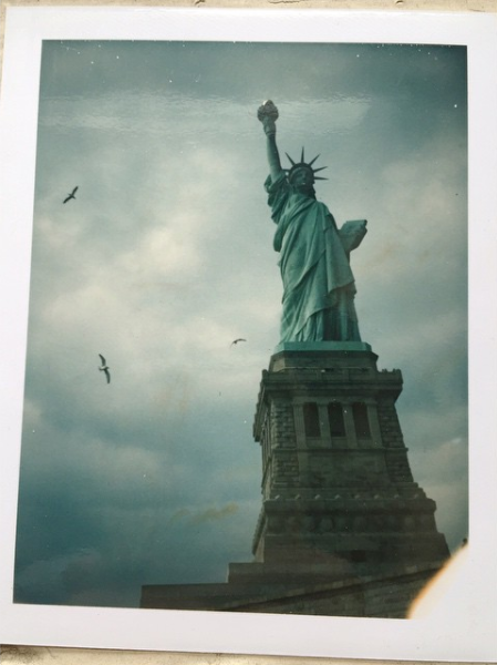 From my first NYC visit in Y2K. Back when people were still shooting Polaroids. Or at least I was