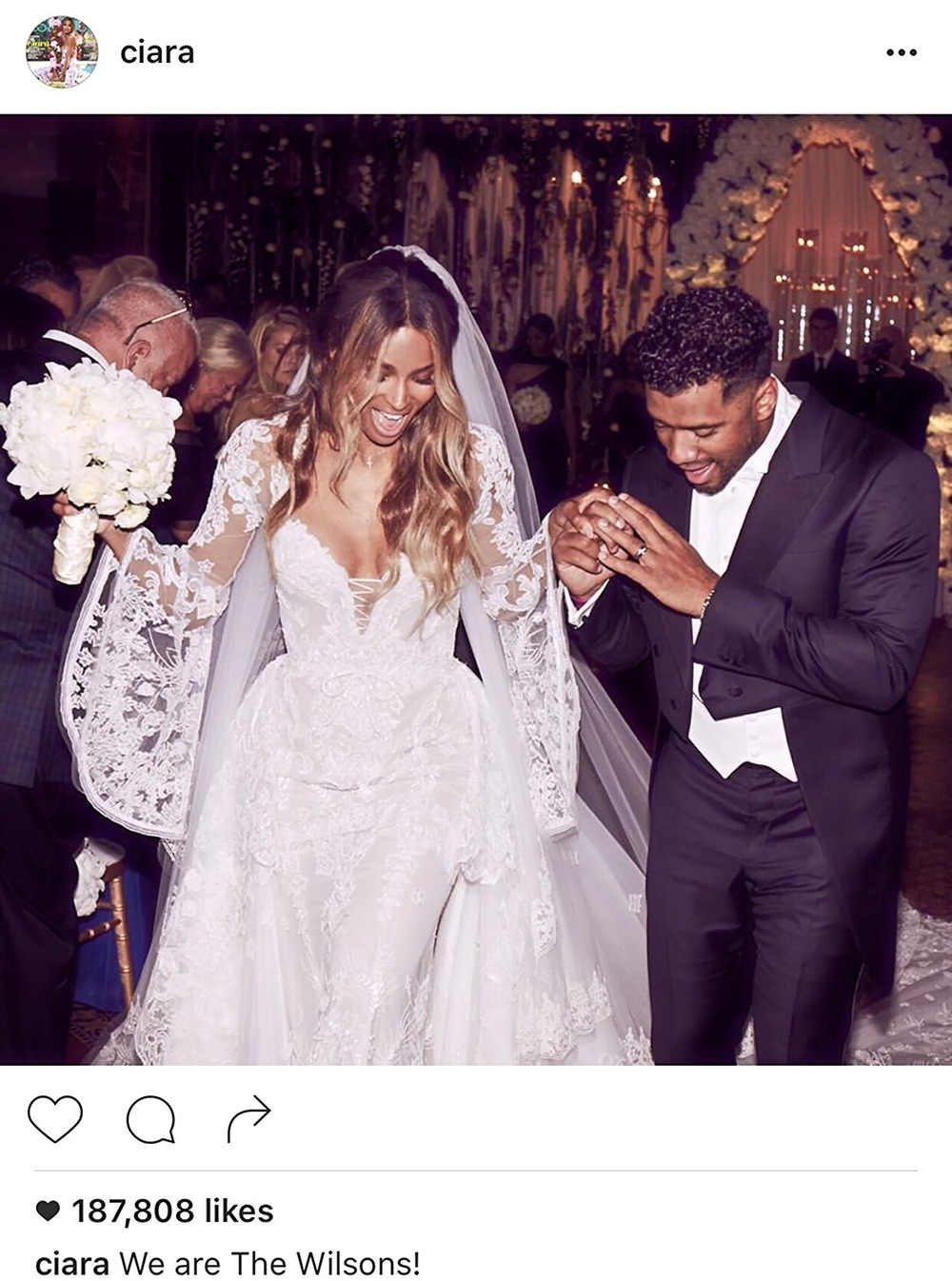 Image courtesy of Ciara's Instagram