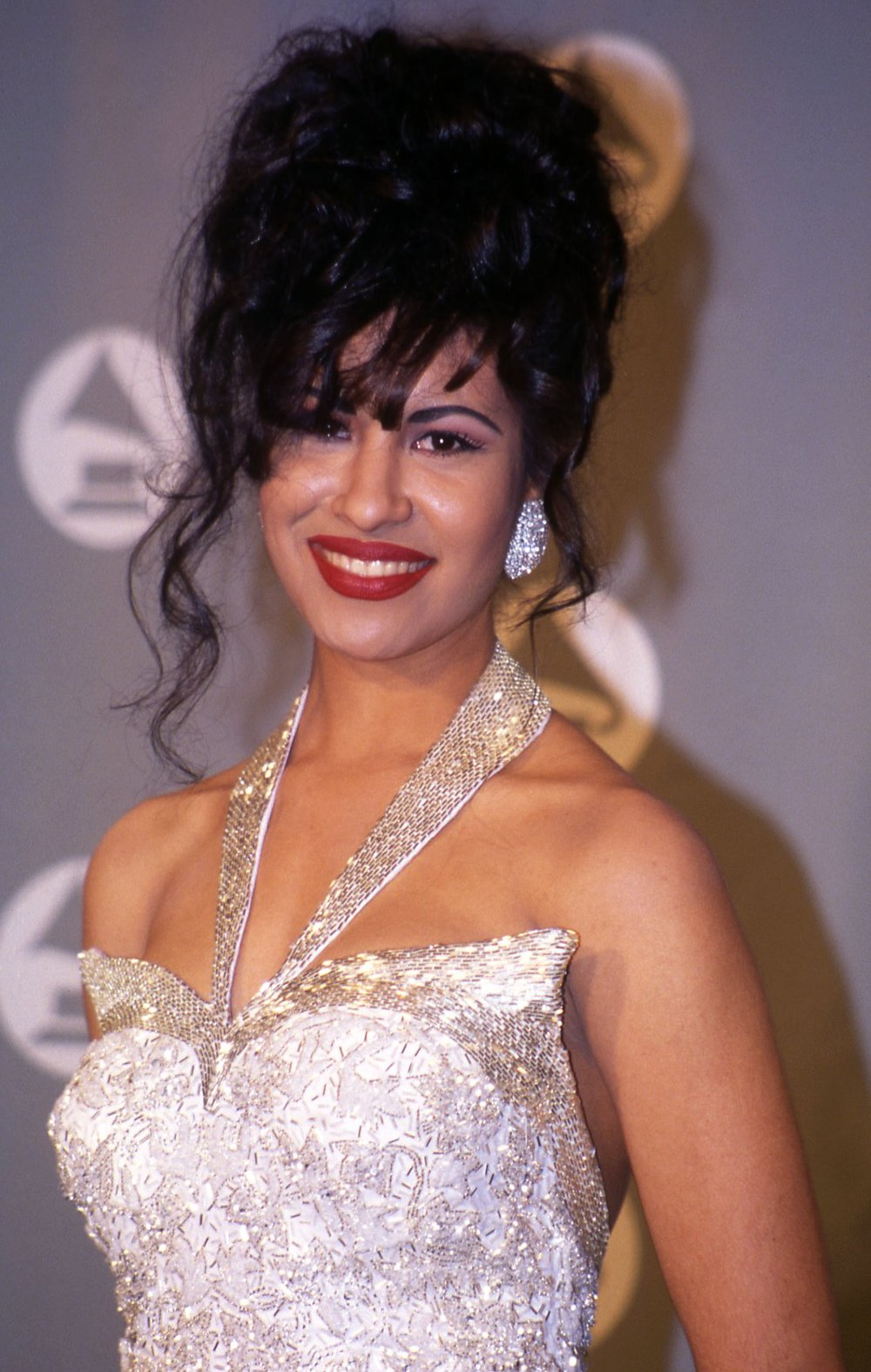 Singer Selena Quintanilla (courtesy of Time Magazine).  Vinnie Zuffante/Getty Images