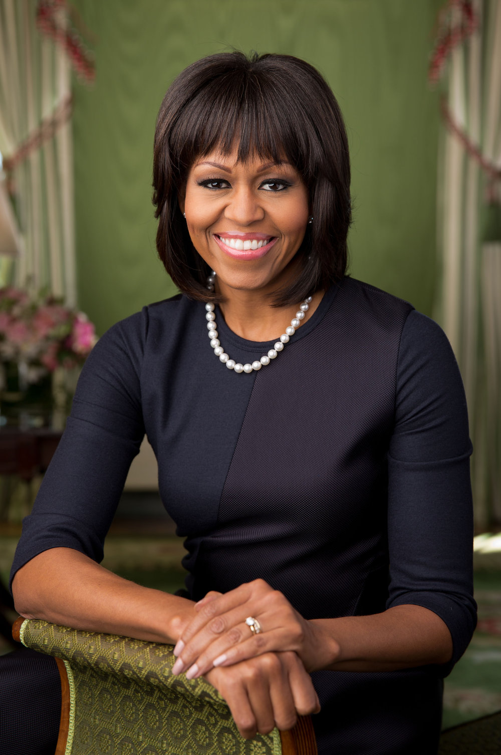 First Lady Michelle Obama, Image courtesy of nytimes.com.
