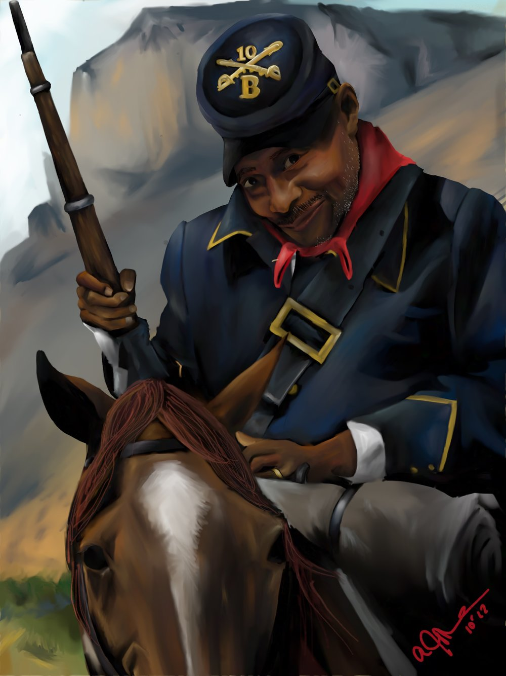 Buffalo Soldier by W.D. Wind