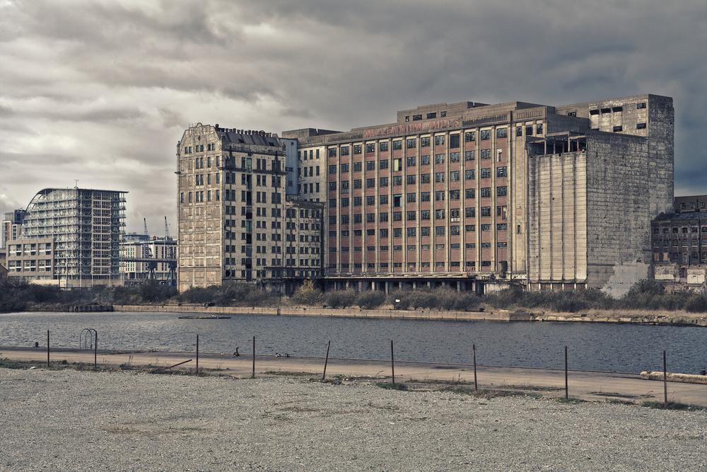 Spillers Millenium Mill, Silvertown, Newham, East London by Al de Perez