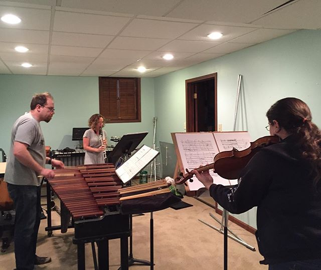 Great fun as we rehearse for Saturday's concert! Come out and join us at Mammal Gallery at 8:00 pm! #dontmesswiththecartel #cometoourconcerts