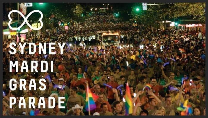 Sydney Gay lesbian mardi gras recovery accommodation 2017