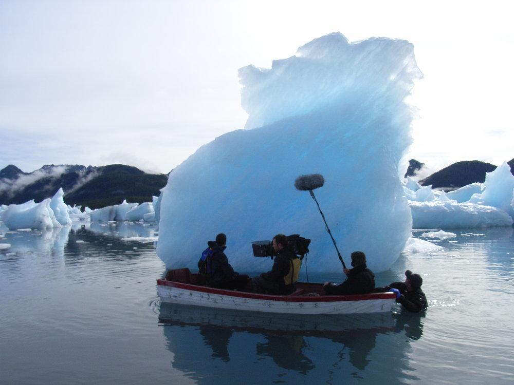 Bel ICE BERG FILM.JPG