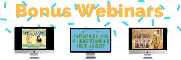 webinar bonuses childproof parenting course
