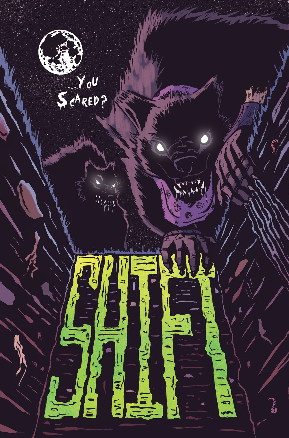 Splash page from 'Shift' - Written by JP Jordan, Colours by Stef Reville