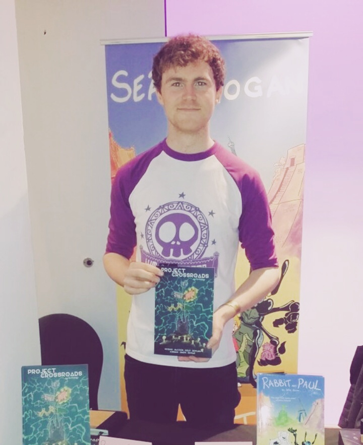 Tabling at Thought Bubble 2016