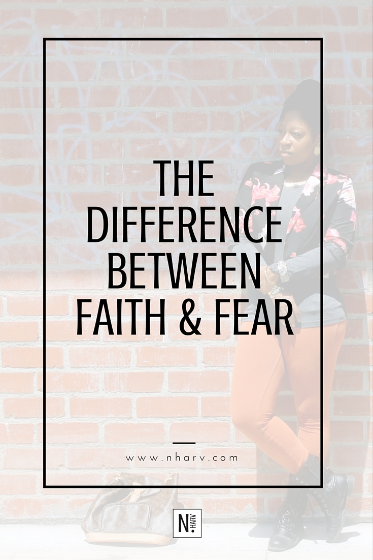 how to tell the difference between faith and fear